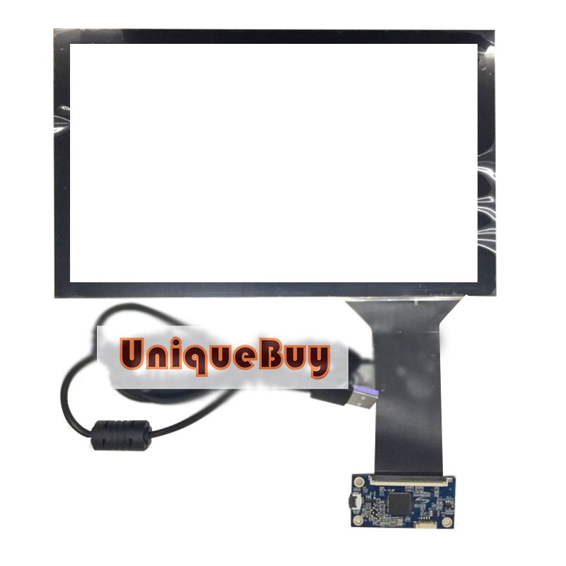 8.9 Inch For Capacitive Screen Touch Screen Glass Monitor 213*130mm Control Board Glass Monitor Replacement 100 1360 touch screen touch board touch glass 26785f1 12188