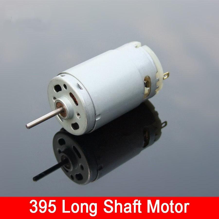 Brand New 395 Dc Motor 6v 24v Toy Parts Micro Long Shaft