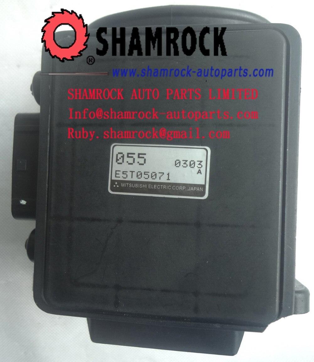 Цена за E5T05071 3000GT 3.0L/Могучий Макс/Montero 3.0L воздуха расходомер OEM 055 E5T05071/MD151055 93-96% НОВЫЙ ОРИГИНАЛЬНЫЙ