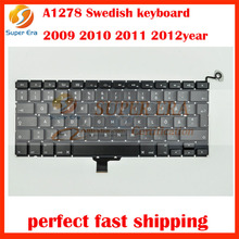 "5pcs/lot Sweden Swedish SE Keyboard For Macbook Pro 13"" A1278 Sweden Finnish FI SE Keyboard MC700 MC724 MD101 MD102"