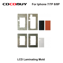 LCD laminating mold for iPhone 7G/7P 8G/8P LCD glass OCA Polari laminating reparized Light Machine Mold for YMJ laminate Machine lcd laminating mold for iphone 6s 6sp lcd glass oca polari laminating reparized light machine mold for ymj laminating machine