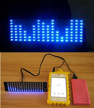 51 MCU development of the learning board LED lamp music spectrum level indicator thermometer display instrument DIY Suite the development of 51 single chip learning board 4 4 4 color led lightdiy electronic parts cotted production suite