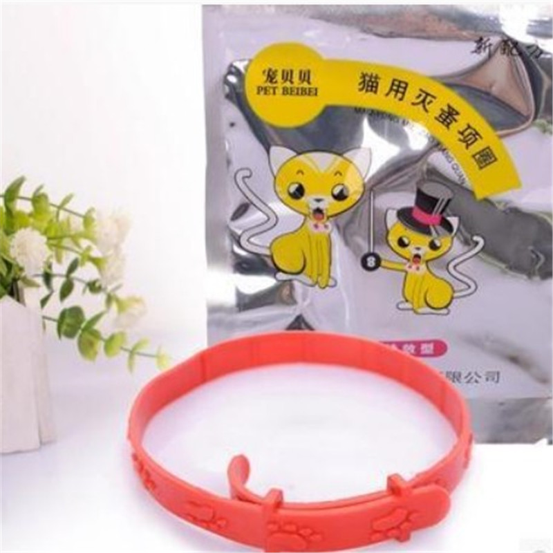 Hot Sale Cat Anti Flea Mite Tick Collar No Flea Grooming Tool  Kitten Remedy Neck Strap Pet Collar