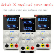 цена на Adjustable DC voltage regulated power supply 30V 10A, digital high precision ammeter laptop phone repair power