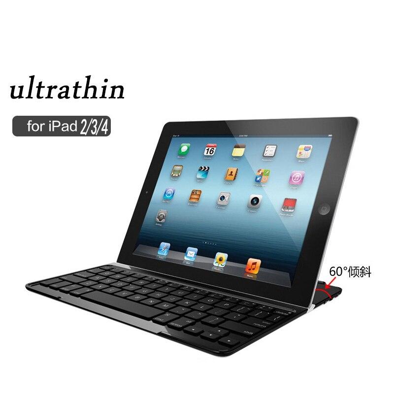 где купить Ultrathin Bluetooth Keyboard for 9.7 inch Apple ipad 2 3 4 Tablet PC for iPad 2 3 4 Keyboard по лучшей цене