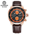 OCHSTIN Brand Luxury Watch Men Fashion Waterproof Quartz Chronograph Sport Wrist Watch Men Clock Male montre homme