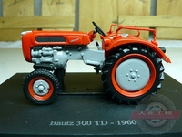 UH 1 43 Bautz 300TD Tractor Model Alloy Alloy Model Agricultural Vehicles Favorites Model