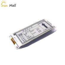Módulo de papel electrónico de 2,9 pulgadas pantalla de visualización de tinta electrónica 296*128 SPI gran ángulo de visión compatible con actualización parcial