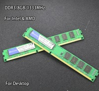 New 8GB DDR3 PC3 10600 1333MHz For Desktop PC DIMM Memory RAM 240 Pins For Intel