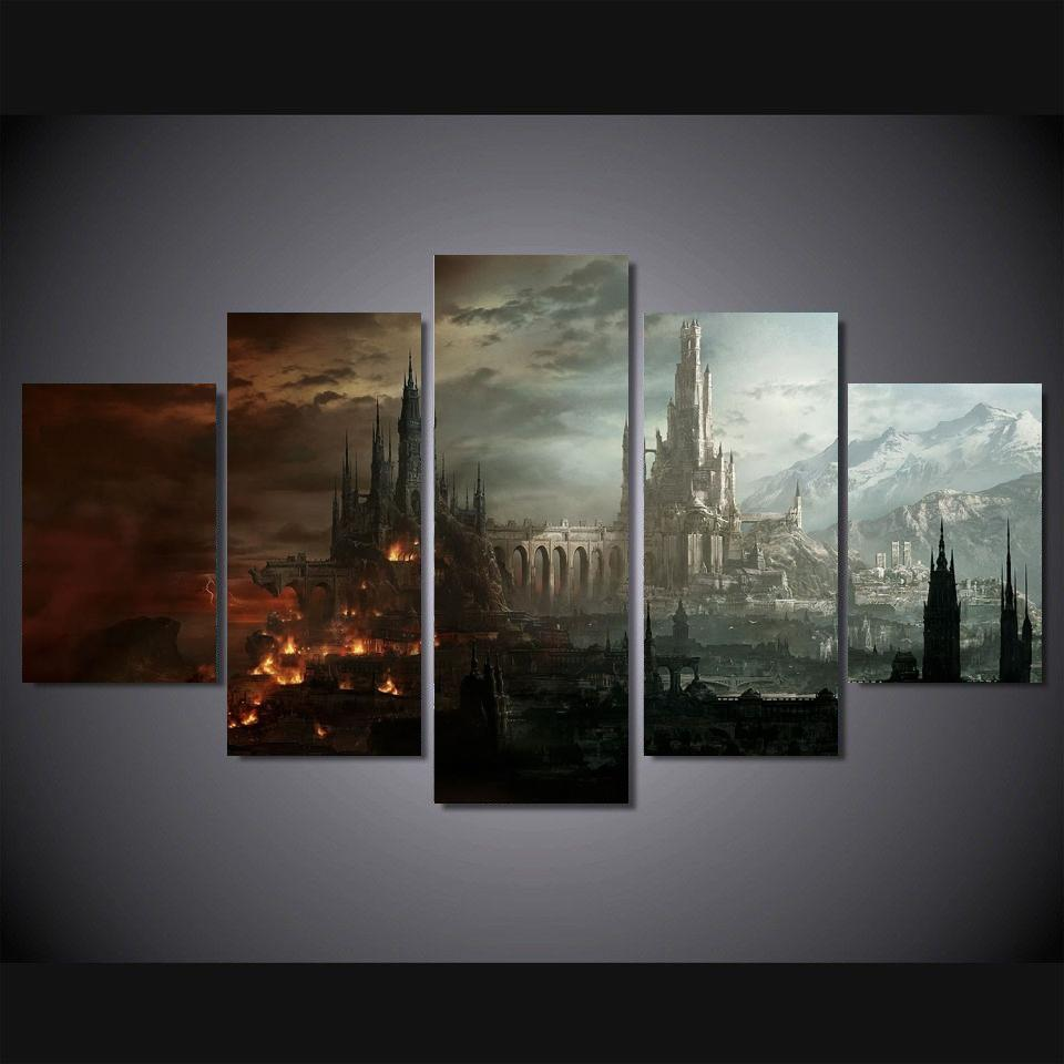 popular fantasy castle poster-buy cheap fantasy castle poster lots