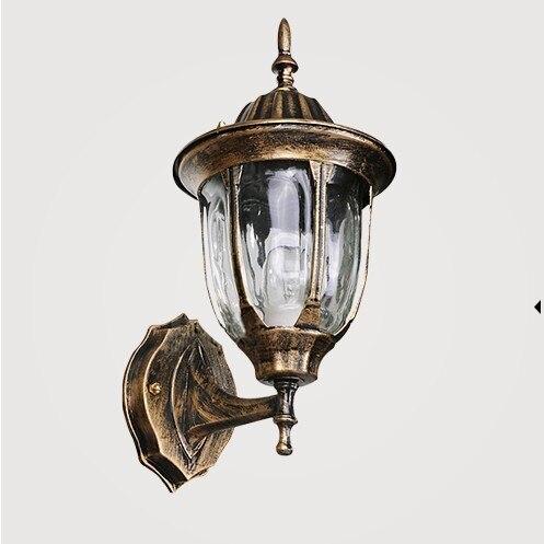 Outdoor wall lamp,light weight, waterproof (IP65) European wall, LED Porch Lights, patio ...