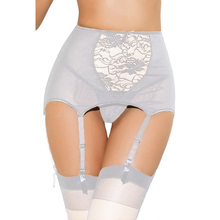 White Floral Lace Mesh