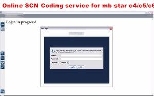 Image 2 - 2019 خدمة الترميز SCN عبر الإنترنت لـ mb star c4 sd c5 sd قم بتوصيل أداة تشخيصية أفضل خدمة خادم لمرة واحدة على مدار 24 ساعة