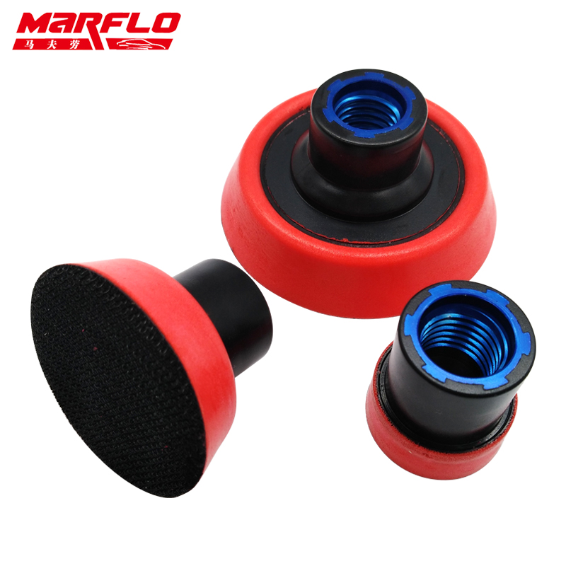 Marflo Sanding Backing Pad Plate Backing Pad M14 Thread M16 5/8-11 T1.2 2 3 3size in one Package 3pcs cleaning sponge polishing pad plate backing pad car wash and care tools 1 2 2 3 m14 mar drop ship