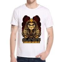 New Style 2017 Lron Maiden Brand 3D t shirt Heavy Streetwear Men's T-shirts Casual Egyptian Pharaoh Short Sleeve Top Tees K9-7#