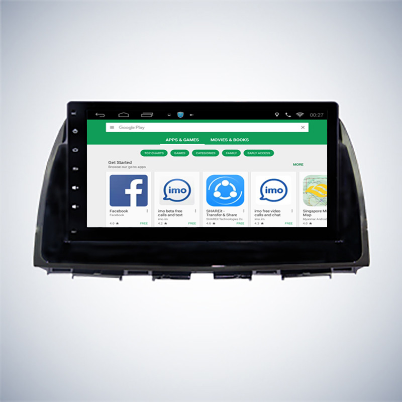 ChoGath 10.2 inch Android 7.0 Car GPS for Mazda CX5 CX 5 2013 2014 2015 with Mirror Link Radio Navi WIFI auto radio No DVD
