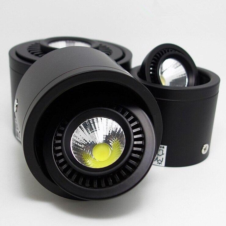 Новые Дизайн CREE 6 Вт 9 Вт 12 Вт 16 Вт вел Подпушка свет Поворотный Светильник Встраиваемые потолка Спальня подпушка огни Лампы для мотоциклов csa...