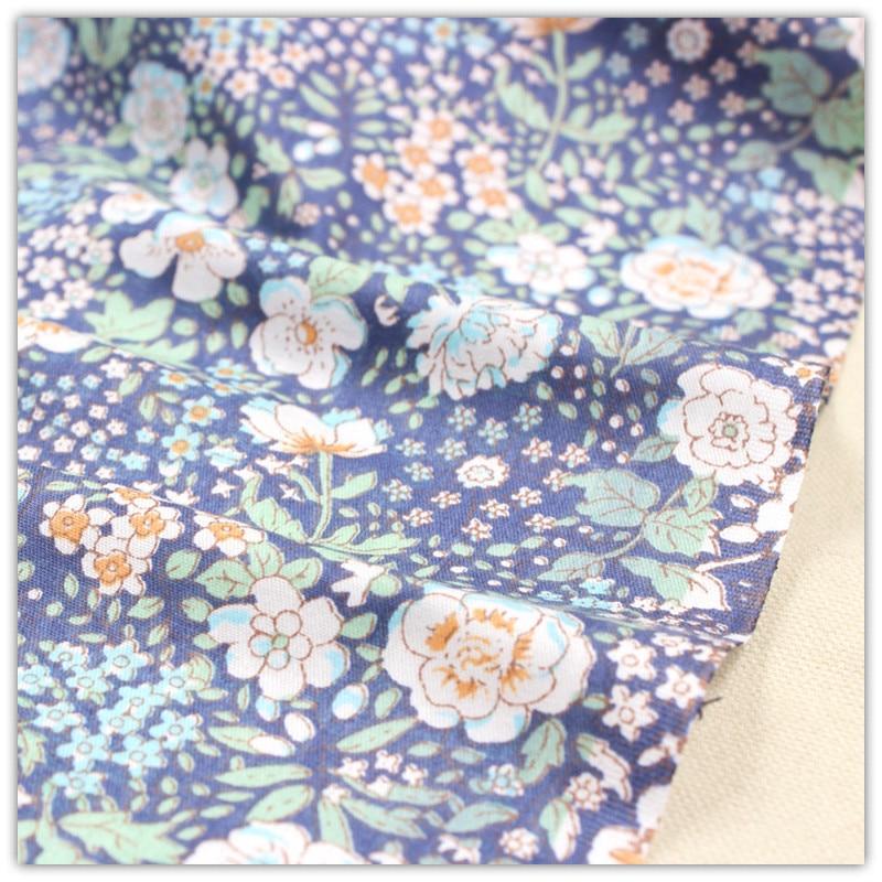 1561001, envío gratis 50 cm * 150 cm de Dibujos Animados Serie de Flores de tela