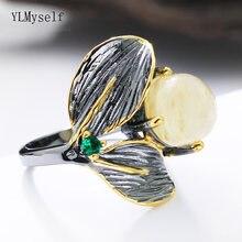 2021 симпатичное кольцо с листьями милые женские ювелирные изделия