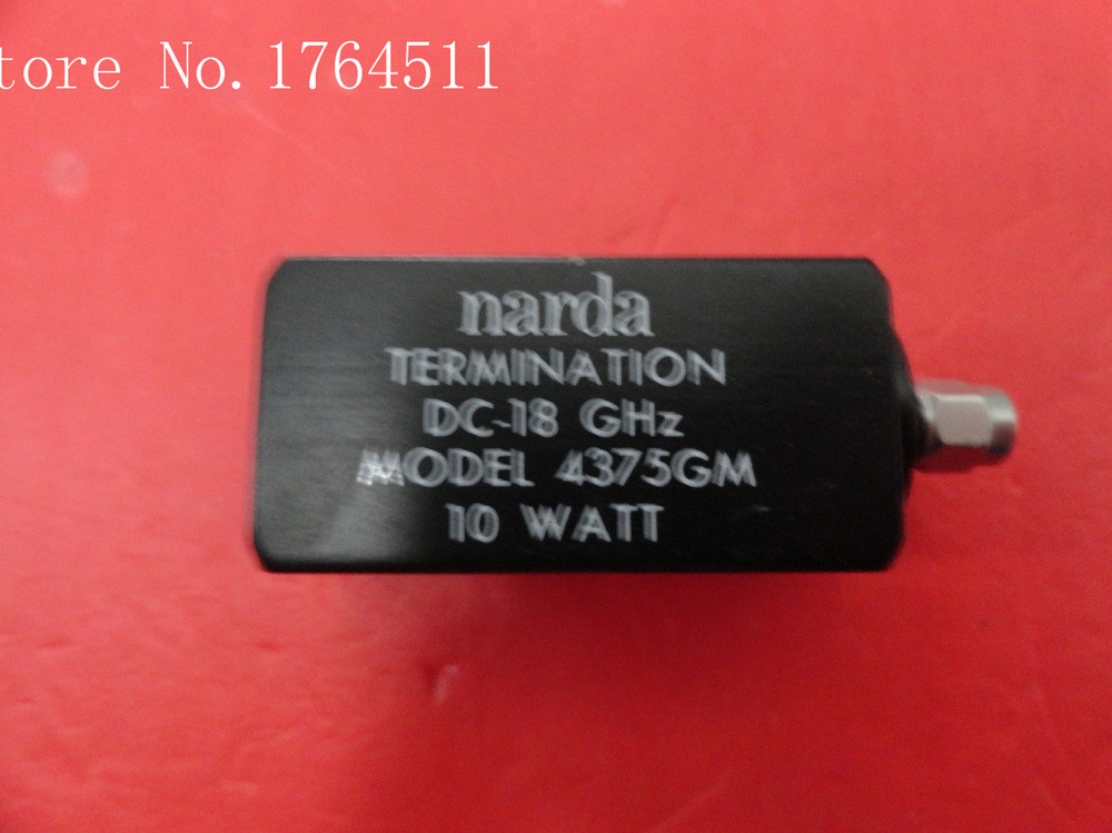[BELLA] The Supply Of Narda 4375GM DC-18GHZ SMA Dummy Load Calibration
