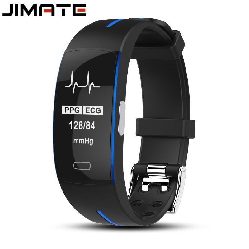 Blood Pressure Band Heart Rate Monitor PPG ECG Smart Bracelet Activit Fitness Tracker Watch Intelligent Wristband