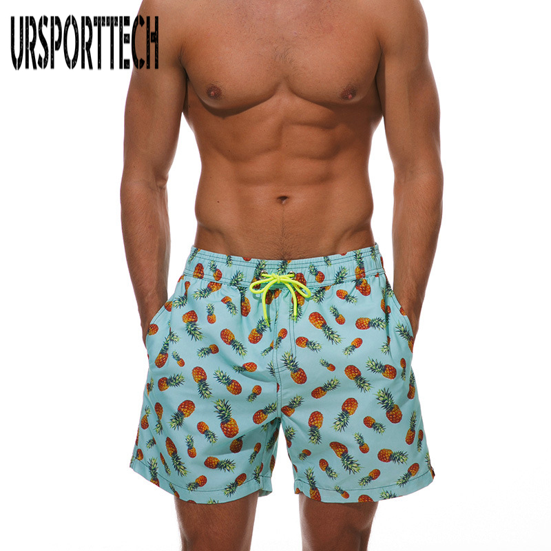 New Quick Dry Mens Print Shorts Summer Mens Board Shorts Casyak Beach Short Male Short M-2XL
