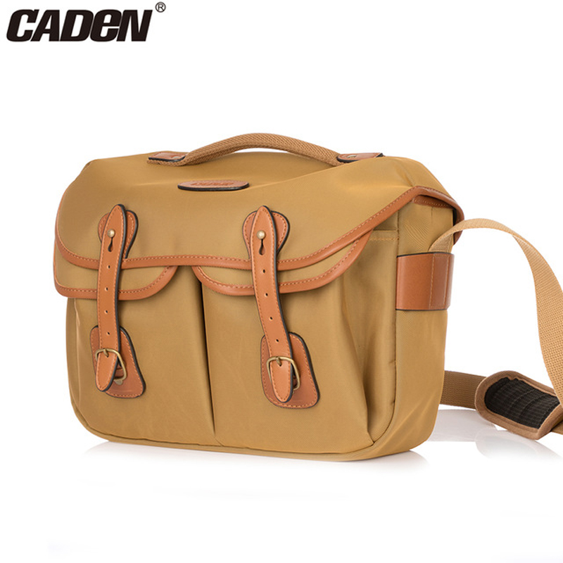 Caden DSLR Camera Waterproof Elegant Stylish Sling Shoulder Bag Crossbody Messenger Men Women Bag Case for