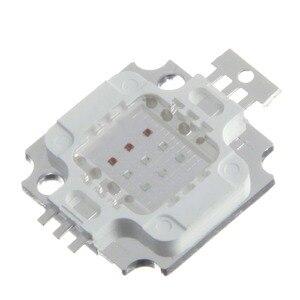 Image 2 - 1 Cái/lốc New 10 Wát RGB High Power LED Module ÁNH SÁNG Đèn Bulb SMD Chip DC 9 11 V RED/GREEN/BLUE Cho đèn pha Led Light