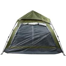 Camping Tent 3-4 People Automatic Four-sided Waterproof Outdoor Portable Tent UV Protection Beach Travel Camping Tents(China)