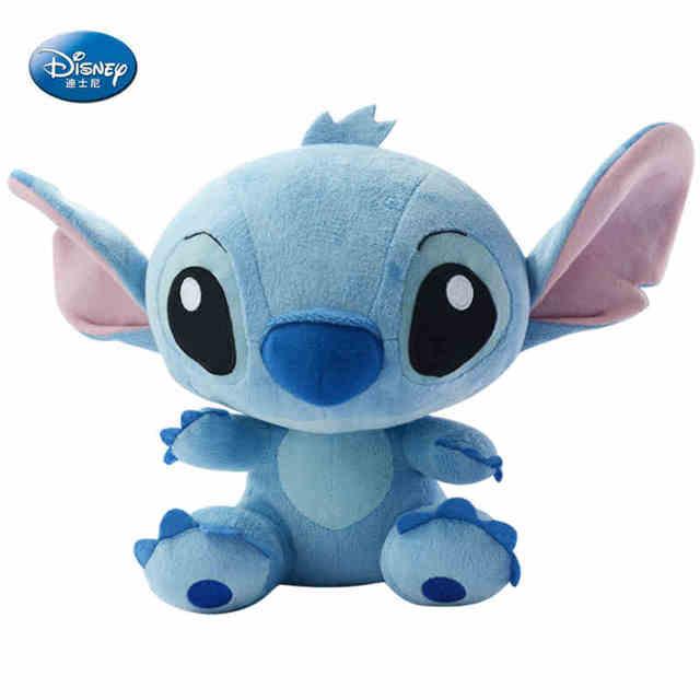 Kawaii Disney Coton Stitch Véritable Et Peluche Animal Lilo En TlK1JFc