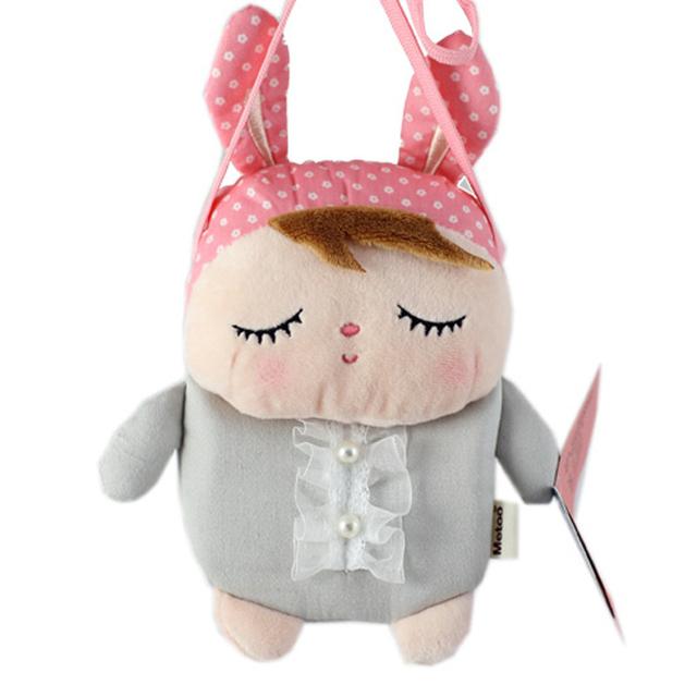 2015 Nova Plush Metoo Dos Desenhos Animados Sacos Crianças Bolsa Escola Sacos Crianças Ombro Saco Boneca de Pelúcia para o Jardim de Infância Menina J735