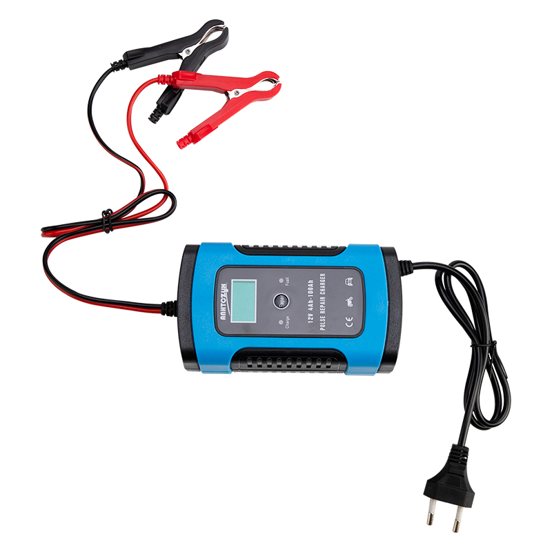 Image 5 - Full Automatic Car Battery Charger 110V to 220V To 12V 6A Intelligent Fast Power Charging Wet Dry Lead Acid Digital LCD Display-in Battery Charging Units from Automobiles & Motorcycles
