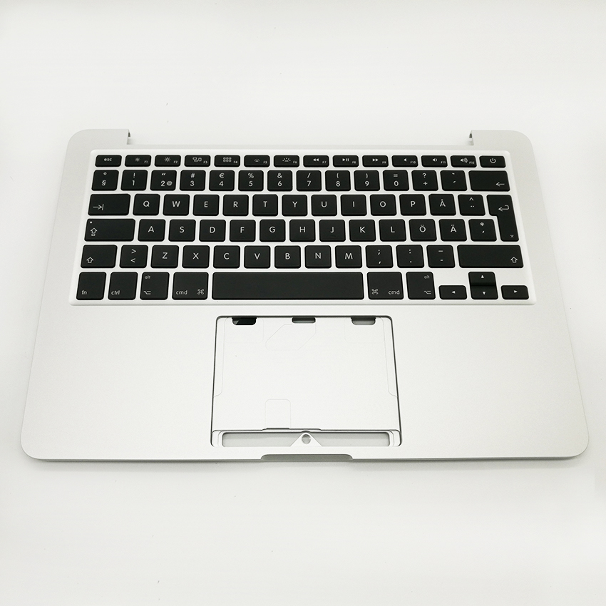New TopCase with SE Swedish Sweden Keyboard For MacBook Pro Retina 13