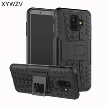 sFor Samsung Galaxy A6 2018 Case Armor Rubber Hard Back Phone For Cover Fudnas