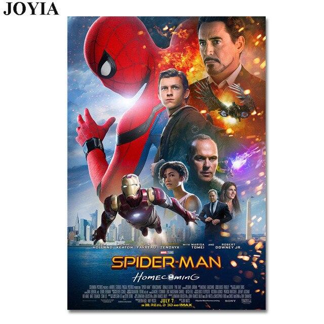 Aliexpress.com: Comprar Spiderman cartel Spider Man Homecoming ...