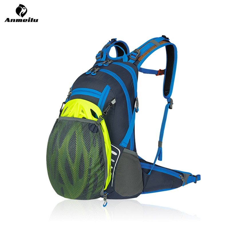 ANMEILU 20L Outdoor Bag Waterproof Nylon Bag Travel Camping Hiking Climbing Water Bags Hydration Bike Cycling Tactical Backpack 3l tactical water bottle bag knapsack hydration backpack pouch hiking camping cycling pack canteen water bag molle
