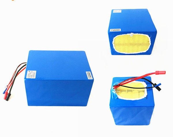 Free shipping ! 72v 32ah NCR18650PF cell electric bike lithium battery , 5000W ebike lithium battery pack image