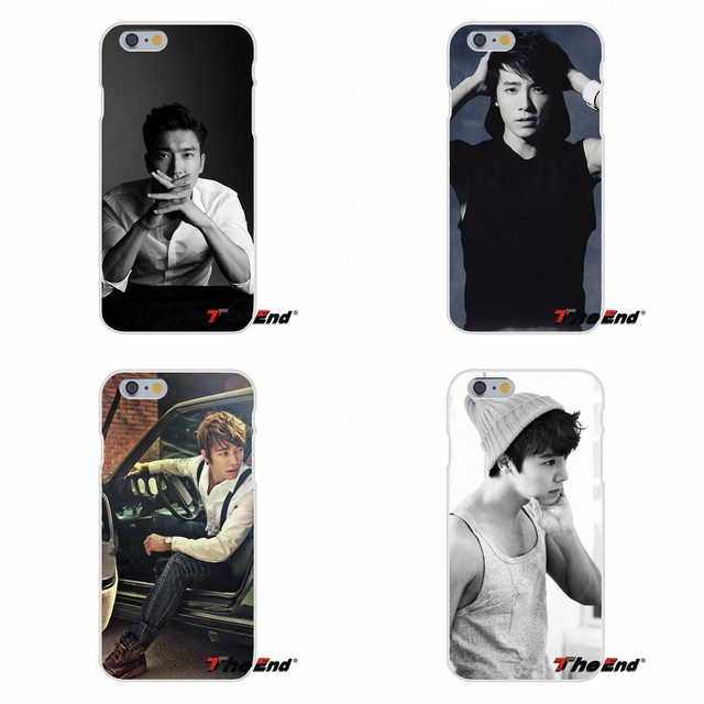 For iPhone X 4 4S 5 5S 5C SE 6 6S 7 8 Plus Galaxy Grand Core Prime Alpha Super Junior Ryeowook HanKyung Silicone Soft Phone Case