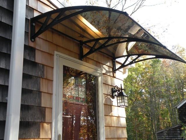 Simple Design Polycarbonate Door Canopy,Clear Bronze Blue Polycarbonate Door  Canopy In Awnings From Home U0026 Garden On Aliexpress.com | Alibaba Group