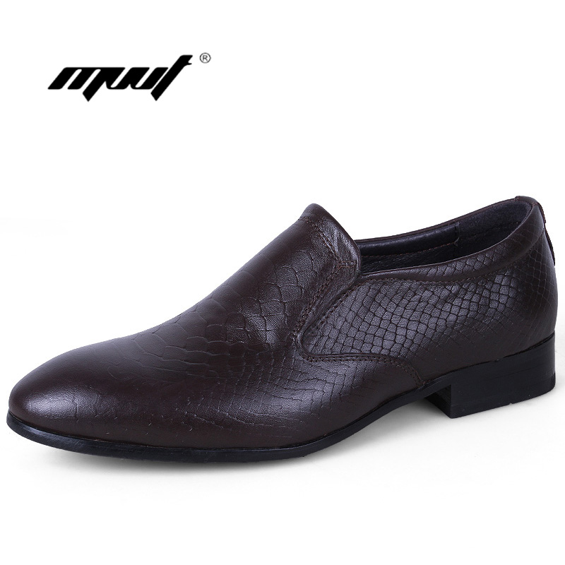 Mode de luxe Italien hommes chaussures décontracté oxfords noir marron chaussures habillées chaussures en cuir véritable chaussures plates pour homme bureau mariage