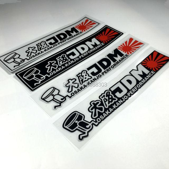 Hellaflush Hf Reflective Car Sticker Decals For Japanese Jdm Kanjo