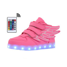 Led Shoes Children Glowing Sneakers Kid Luminous 2019 Hot Selling Casual Spring Summer