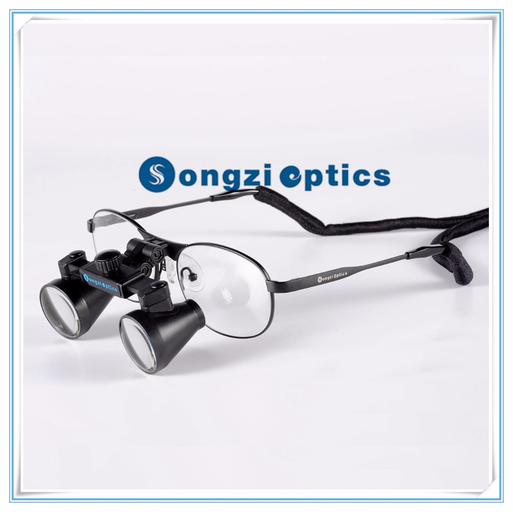 High Quality 2 5X 3X 3 5X Optional Titanium frames Binocular Dental Loupes Surgical Loupes