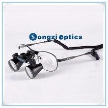 Высокое качество(2.5X 3X 3.5X опционально) титановые рамы стоматологические лупы-бинокуляр Хирургические лупы