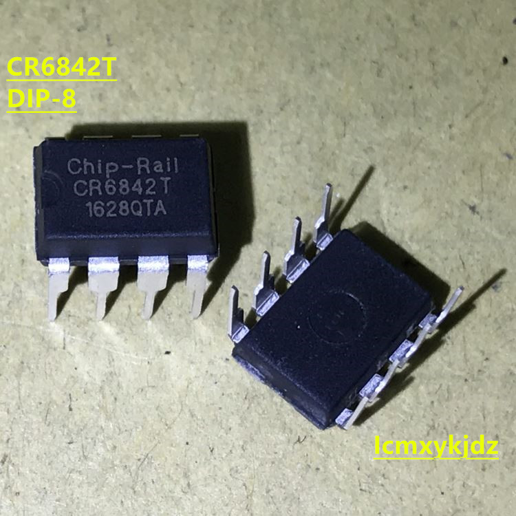 5Pcs/Lot ,  CR6842T CR6842 DIP-8   ,New Oiginal Product New original free shipping fast delivery