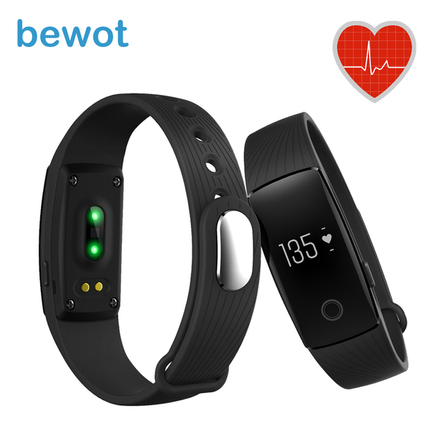 Smart Band ID107HR SmartBand Wristband IML Finishing Smart Fitness Tracker Bluetooth 4.0 Smart Braclet Heart Rate Monitor