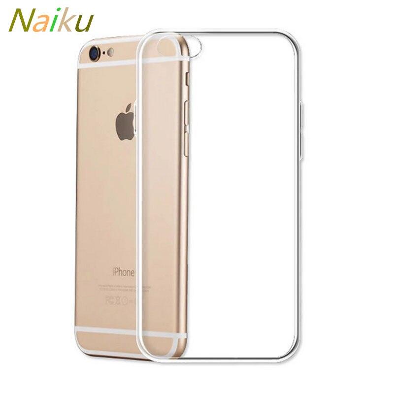 Ультра тонкий силиконовый прозрачный чехол для <font><b>iPhone</b></font> 6 6S плюс 7 плюс 5 s SE 8 8 Plus x crystal clear кремния задняя крышка телефона Сумки