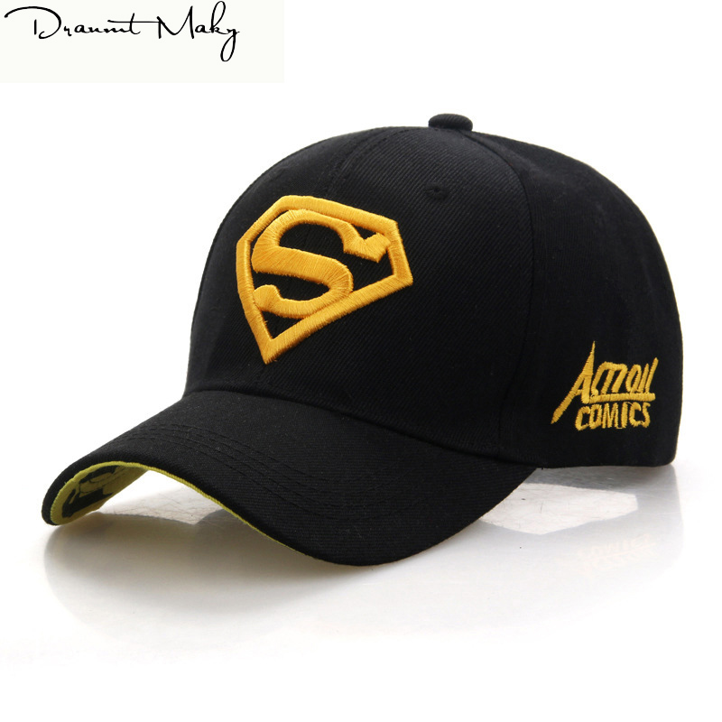 2018 Gorras Superman   Cap   Casquette Superman   Baseball     Cap   Men Brand Women Bone Diamond Snapback For Adult Male Trucker Hat bone