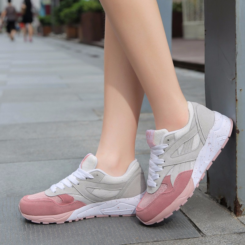 Autumn Running shoes for women sneakers Athletic walking shoes breathable outdoor sport shoes woman zapatillas deportivas mujer 25