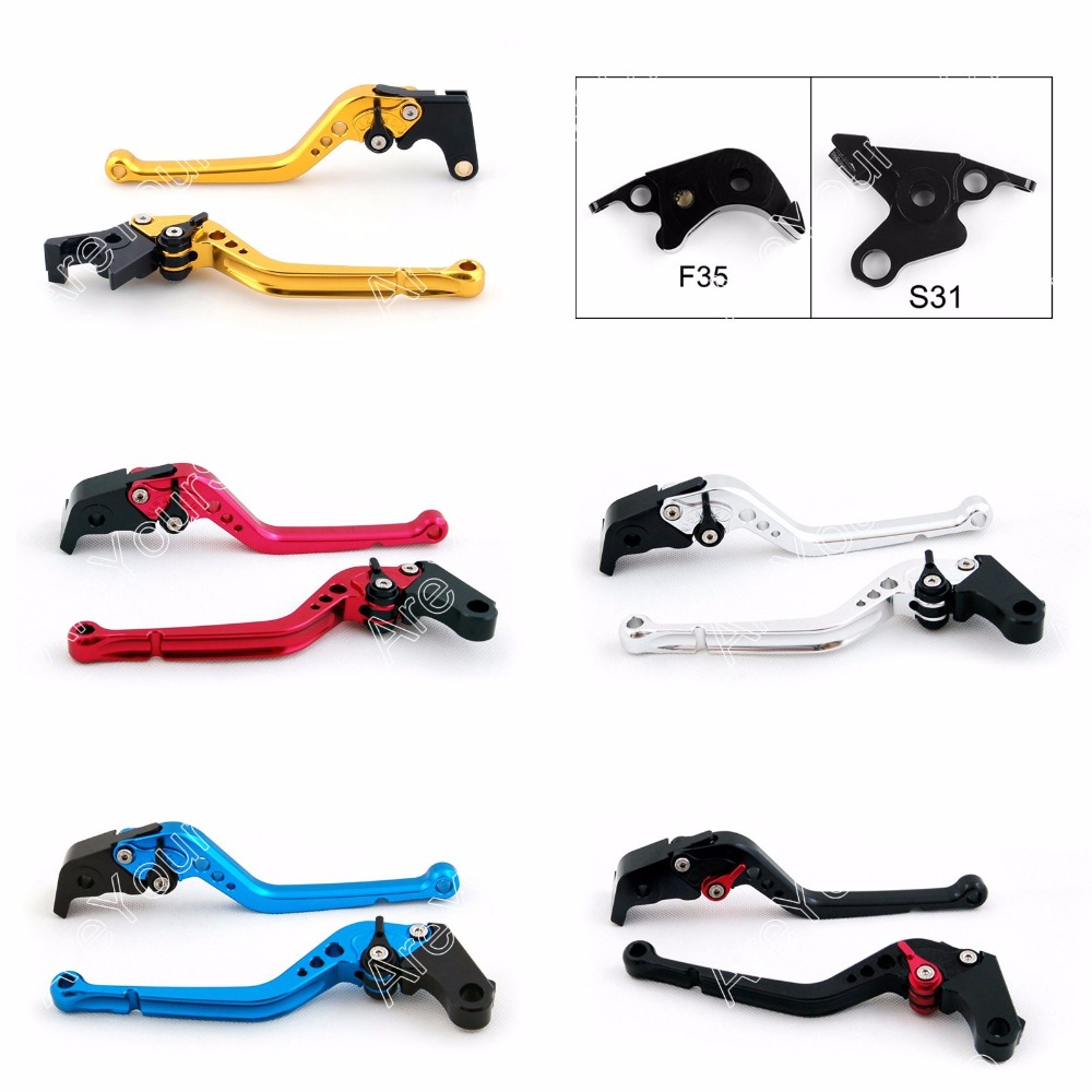 цена на Areyourshop Motorcycle Brake Long Clutch Levers for Suzuki  B-KING 2008 2009 2010 2011 2PCS Adjustment   Styling Brakes